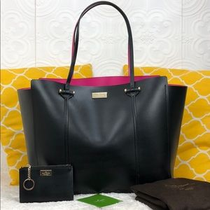 🌸OFFERS?🌸Kate Spade Leather Two Tone Tote Set